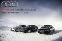 Audi winter package Alloy Rims + Winter Tires * WheelsCo *
