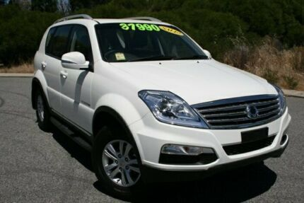 2014 Ssangyong Rexton Y285 II MY14 SX Grand White 5 Speed Auto Seq Sportshift Wagon Hillman Rockingham Area Preview