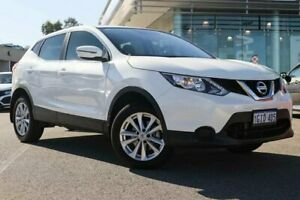 2017 Nissan Qashqai J11 ST White Continuous Variable Wagon