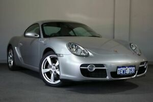 2008 Porsche Cayman 987 MY08 Silver 5 Speed Sports Automatic Coupe Bayswater Bayswater Area Preview