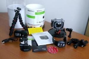 Vivitar 4K 360 Degree View Action Camera - New in Packaging