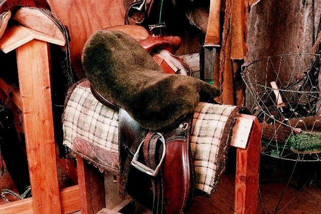 All Purpose/Dressage/English Sheepskin Saddle Covers - Brown