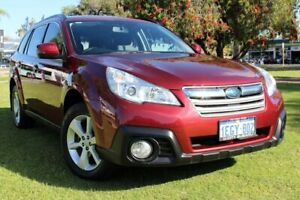 2013 Subaru Outback B5A MY14 2.5i Lineartronic AWD Red 6 Speed Constant Variable Wagon Victoria Park Victoria Park Area Preview