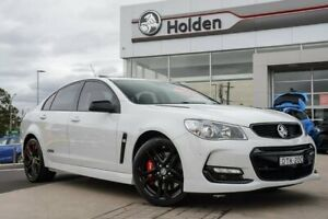 2017 Holden Commodore VF II MY17 SS V Redline Heron White 6 Speed Sports Automatic Sedan