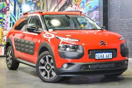 2017 Citroen C4 Cactus E3 MY18 Exclusive Red 5 Speed Manual Wagon Perth Perth City Area Preview