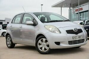 2006 Toyota Yaris NCP91R YRS Silver 4 Speed Automatic Hatchback