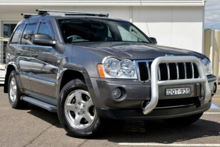 2005 Jeep Grand Cherokee WH MY2006 Limited Grey 5 Speed Automatic Wagon