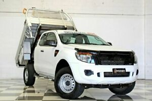 2013 Ford Ranger PX XL 2.2 Hi-Rider (4x2) White 6 Speed Automatic Super Cab Chassis Burleigh Heads Gold Coast South Preview