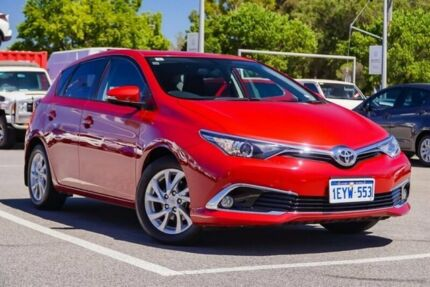 2016 Toyota Corolla Red Constant Variable Hatchback