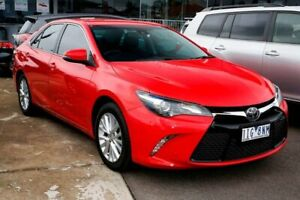 2016 Toyota Camry ASV50R Atara SL Red 6 Speed Sports Automatic Sedan