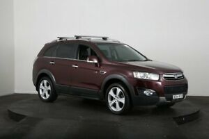 2011 Holden Captiva CG Series II 7 LX (4x4) Maroon 6 Speed Automatic Wagon