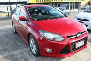 2013 Ford Focus LW MkII Sport PwrShift Red 6 Speed Sports Automatic Dual Clutch Hatchback Underwood Logan Area Preview