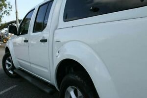2012 Nissan Navara D40 S6 MY12 ST 4x2 White 5 Speed Sports Automatic Utility Bungalow Cairns City Preview