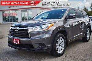 2016 Toyota Highlander LE AWD - Act Fast!  Won't last long!