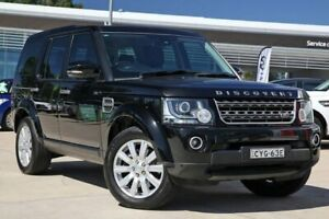 2015 Land Rover Discovery Series 4 L319 MY15 TDV6 Black 8 Speed Sports Automatic Wagon Castle Hill The Hills District Preview