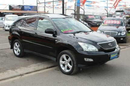 2006 Lexus RX350 GSU35R 06 Upgrade Sports Luxury Black 5 Speed Sequential Auto Wagon West Footscray Maribyrnong Area Preview