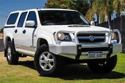2011 Holden Colorado RC MY11 LX Crew Cab White 4 Speed Automatic Utility Wangara Wanneroo Area Preview