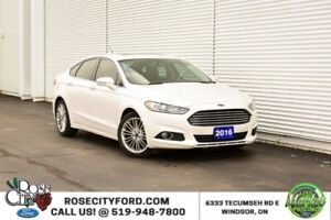 2016 Ford Fusion SE / BACK UP CAM / NAV / HEATED SEATS