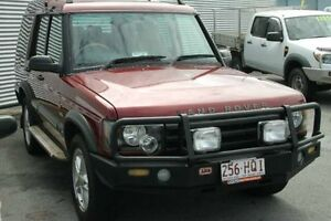 2004 Land Rover Discovery 03MY S Td5 Red 4 Speed Automatic Wagon Bungalow Cairns City Preview
