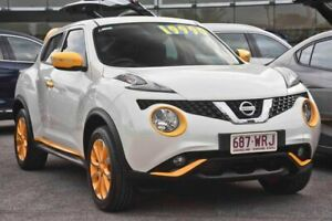 2015 Nissan Juke F15 Series 2 Ti-S X-tronic AWD White 1 Speed Constant Variable Hatchback Capalaba Brisbane South East Preview