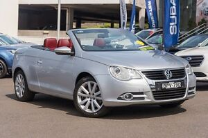 2010 Volkswagen EOS 1F MY09 147TSI DSG Silver 6 Speed Sports Automatic Dual Clutch Convertible Brookvale Manly Area Preview