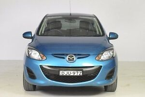 2011 Mazda 2 DE10Y1 MY11 Neo Blue 5 Speed Manual Hatchback Wadalba Wyong Area Preview