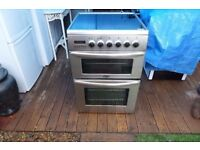 Cooker electric belling fan oven 50cm, ceramic hob