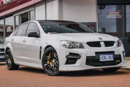 2013 Holden Special Vehicles GTS GEN-F MY14 White 6 Speed Manual Sedan