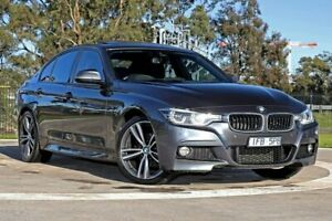 2015 BMW 3 Series F30 LCI 320d M Sport Grey 8 Speed Sports Automatic Sedan Melbourne Airport Hume Area Preview