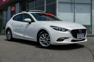 2016 Mazda 3 BM5476 Neo SKYACTIV-MT White 6 Speed Manual Hatchback