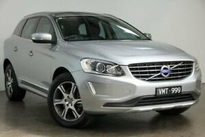 2015 Volvo XC60 DZ MY15 T5 Geartronic Luxury Silver 8 Speed Sports Automatic Wagon South Melbourne Port Phillip Preview