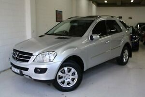 2007 Mercedes-Benz M-Class W164 ML320 CDI Luxury Silver 7 Speed Sports Automatic Wagon Castle Hill The Hills District Preview