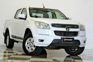 2012 Holden Colorado RG LT (4x4) White 6 Speed Automatic Crew Cab Pickup Burleigh Heads Gold Coast South Preview