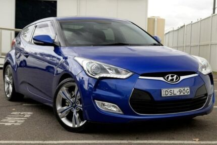 2012 Hyundai Veloster FS + Coupe D-CT Purple 6 Speed Sports Automatic Dual Clutch Hatchback Gosford Gosford Area Preview