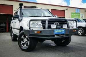 2006 Toyota Landcruiser HZJ105R Standard White 5 Speed Manual Wagon Coopers Plains Brisbane South West Preview