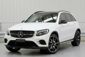 2017 Mercedes-Benz GLC-Class X253 GLC43 AMG White Sports Automatic Parramatta Parramatta Area Preview