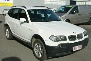 2004 BMW X3 E83 MY05 Steptronic White 5 Speed Sports Automatic Wagon Bungalow Cairns City Preview