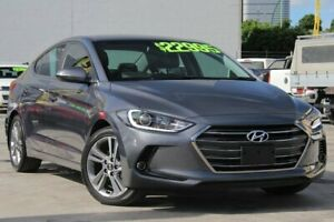 2017 Hyundai Elantra AD MY18 Elite Grey 6 Speed Sports Automatic Sedan