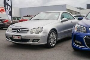 2007 Mercedes-Benz CLK-Class C209 MY08 CLK350 Elegance Silver 7 Speed Sports Automatic Coupe