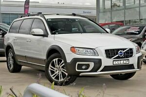 2012 Volvo XC70 BZ MY12 D5 Geartronic White 6 Speed Sports Automatic Wagon Baulkham Hills The Hills District Preview