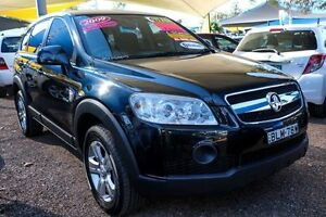 2009 Holden Captiva CG MY09 SX AWD Black 5 Speed Sports Automatic Wagon Minchinbury Blacktown Area Preview
