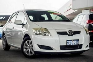2007 Toyota Corolla ZRE152R Ascent White 4 Speed Automatic Hatchback Osborne Park Stirling Area Preview