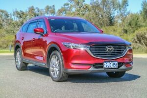 2018 Mazda CX-8 KG4W2A Asaki SKYACTIV-Drive i-ACTIV AWD Red 6 Speed Sports Automatic Wagon Cannington Canning Area Preview