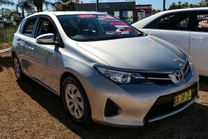2014 Toyota Corolla ZRE182R Ascent Silver 7 Speed Constant Variable Hatchback Minchinbury Blacktown Area Preview