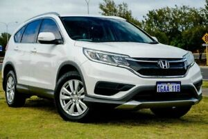 2015 Honda CR-V RM Series II MY16 VTi White 5 Speed Automatic Wagon Clarkson Wanneroo Area Preview