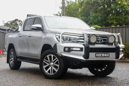 2016 Toyota Hilux GUN126R SR5 Double Cab Silver 6 Speed Sports Automatic Utility Greenacre Bankstown Area Preview