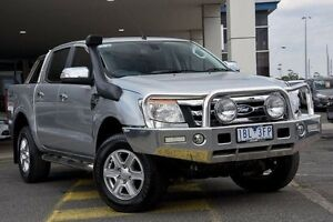 2014 Ford Ranger PX XLT Double Cab Silver 6 Speed Sports Automatic Utility Mornington Mornington Peninsula Preview