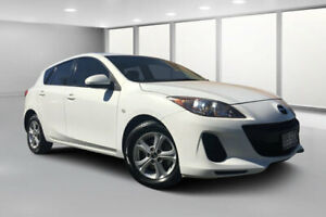 2013 Mazda 3 BL Series 2 MY13 Neo White 5 Speed Automatic Hatchback Dalby Dalby Area Preview