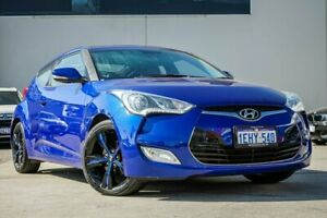 2012 Hyundai Veloster FS Coupe D-CT Blue 6 Speed Sports Automatic Dual Clutch Hatchback