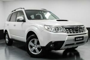 2012 Subaru Forester S3 MY12 2.0D AWD White 6 Speed Manual Wagon Hamilton East Newcastle Area Preview